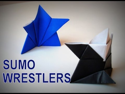 Origami - How to make a SUMO Wrestler