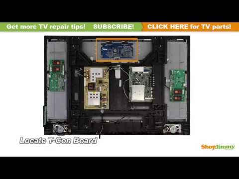 Vertical Colored Lines Repair Philips 996510006936 T-Con Boards Replacement Guide for LCD TV Repair
