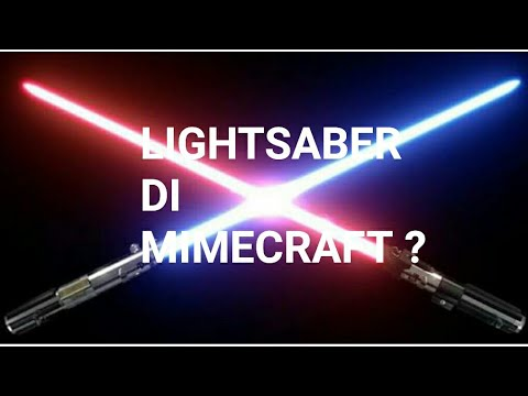Lightsaber in Minecraft? | Minecraft Pocket Edition Tutorial