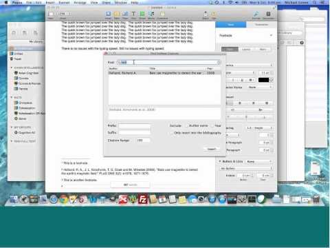 Apple Pages EndNote Plugin issue