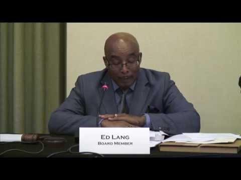 CSLB Quarterly Board Meeting June 23, 2016