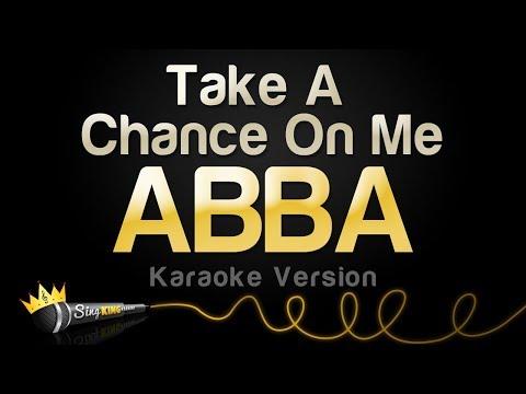 ABBA - Take A Chance On Me (Karaoke Version)