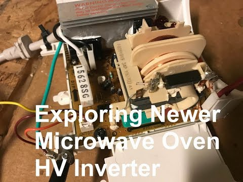 HV from Newer Microwave Oven Inverter