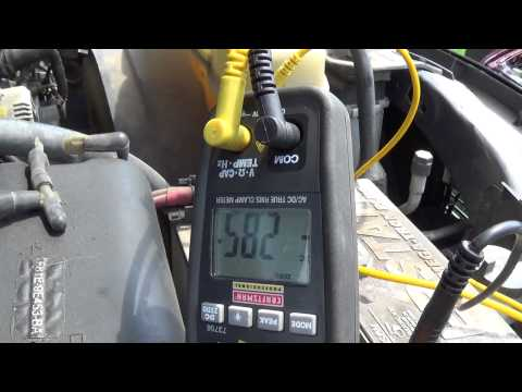 Alternator Parasitic Draw Charging test