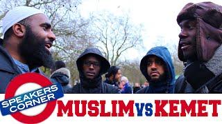 Muslim vs Kemet | Is The Black Man God? | Speakers Corner