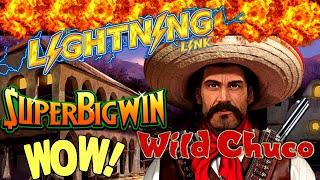 Download 🌟MEGA BIG WIN🌟Lighting Link WILD CHUCO Slot Machine Max Bet Bonus Won| Better Than HANDPAY JACKPOT Video