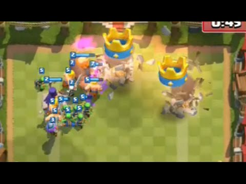 Clash Royale (Ep1) - Winning with Hordes!! - Gameplay