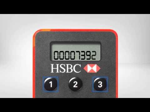 Generate a Transaction Signing and Re-authentication code on your HSBC Online Security Device