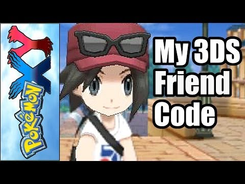 Add my 3DS Friend Code + Pokemon X Livestream Info