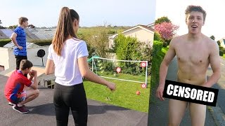 EXTREME FORFEIT FOOTBALL vs MY SISTER & BROTHER