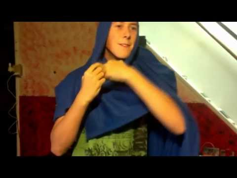 How To: Make a  Mask, Hood, and Cap using a Snuggie