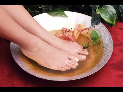 Special Tip for Smelling Feet - Home Spa