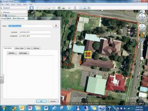 Google Earth- Create a Project Path and Placemark