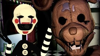 THE PUPPET PLAYS: Five Nights at Candy's (Night 6)