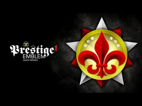 Call of Duty Custom Prestige Emblems - Level 1 Emblem