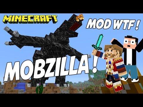Fanta Bob Mods : MOBZILLA !!! - Minecraft Mod