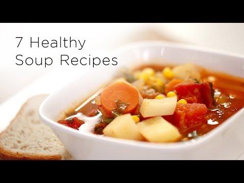 7 Easy Healthy Soup Recipes