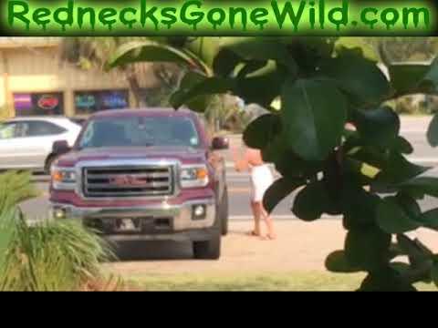 Crazy Woman Vs Husbands Truck
