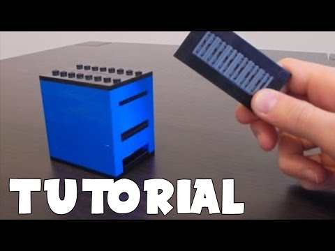 Lego Mini Card Safe TUTORIAL