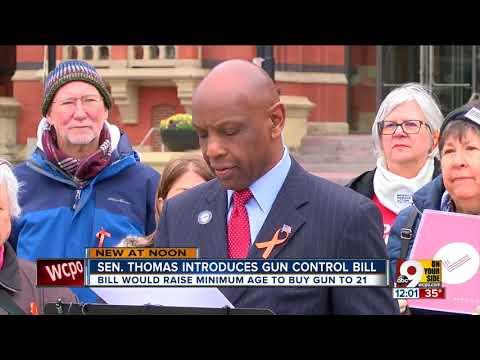 Ohio State Sen. Cecil Thomas introduces legislation to 'curb gun violence'