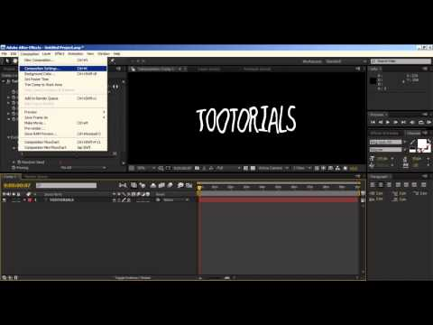 Hand Drawn Effect in After Effects - Tootorials