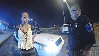 Bodycam Video Shows Handcuffed Woman Stealing Tulsa Police Car