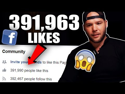 Growing FB Fanpages to 400k Likes — How to Get More Likes on Facebook