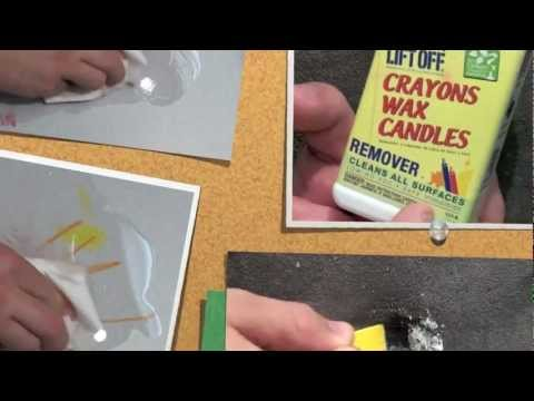 LIFT OFF ® Crayon, Wax & Candle Remover