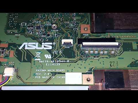 Asus X453MA flash Bios jadi Normal