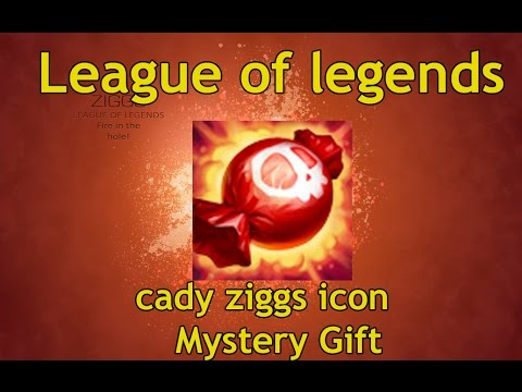 League Of Legends Cady Ziggs Icon And Mystery Gift