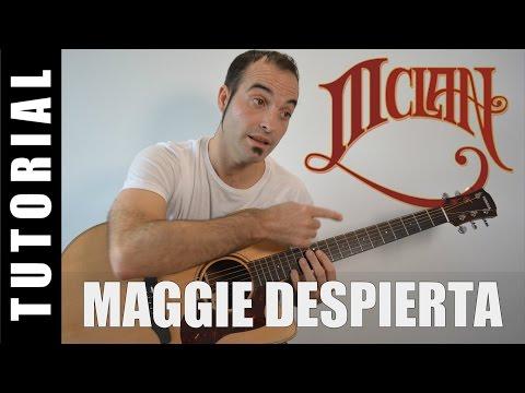 Como tocar Maggie Despierta - M-Clan (Acordes Tutorial Guitarra)