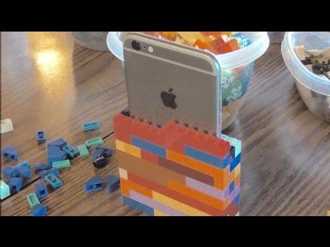 Building The LEGO iPhone 6S Plus Case -Time Lapse