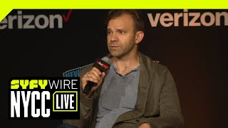 Talks Machina With The Cast Of Critical Role | NYCC 2018 | SYFY WIRE