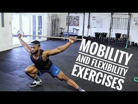 Essential Mobility and Stretching Exercises    Improve your lifts and Avoid Injury's