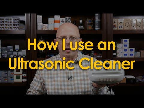 Using an Ultrasonic Cleaner with Your Pens | FP Basics