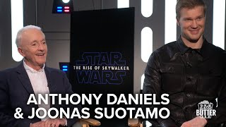Star Wars: The Rise of Skywalker | Anthony Daniels & Joonas Suotamo Interview | Extra Butter
