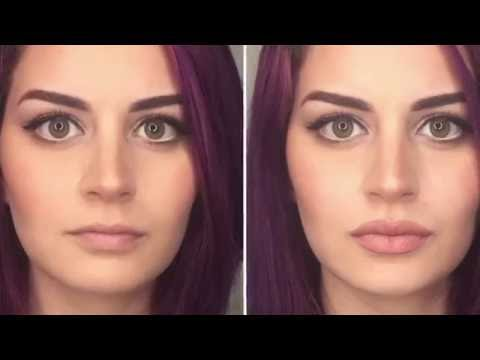 How To Fake Lip Fillers With Makeup