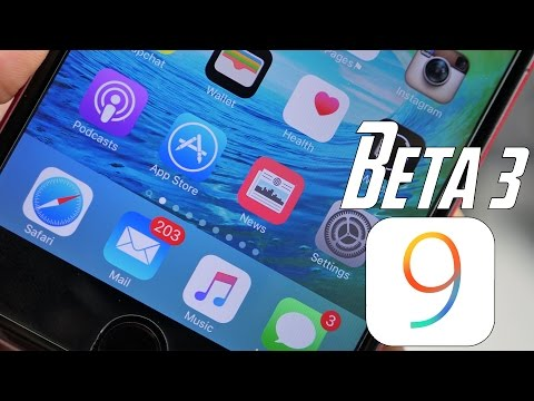 iOS 9: What's New In Beta 3 (Apple Music & News App)