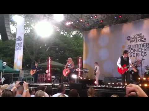 Miranda Lambert Good Morning America summer concert series NYC My Country 96.1