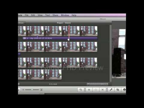 iMovie 09 Tutorials - Adding and Removing audio
