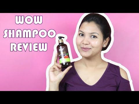 sulphate and paraben free shampoo/wow apple cider vinegar shampoo review