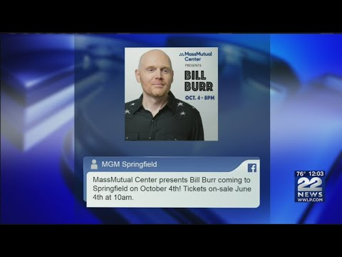 Comedian Bill Burr to perform at MassMutual Center in October
