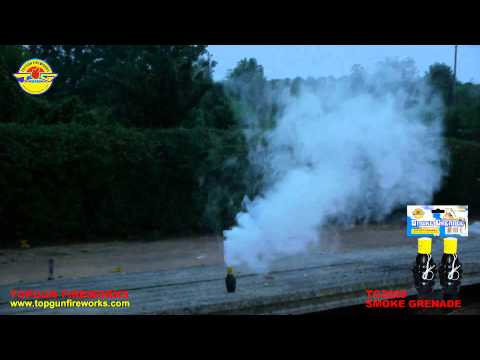 TG2029 Smoke Grenade With Wire Ring Pull