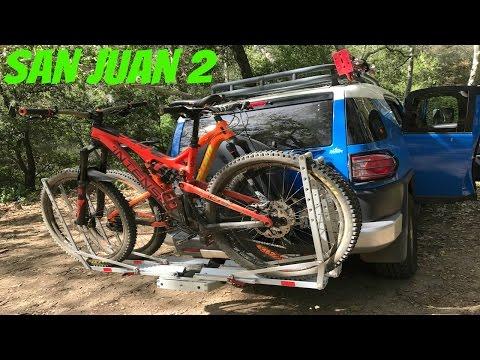 Santa Cruz 5010, 2016 Intense Tracer, 2017 Intense Spider Shuttling San Juan downhill 2017 mtb trail