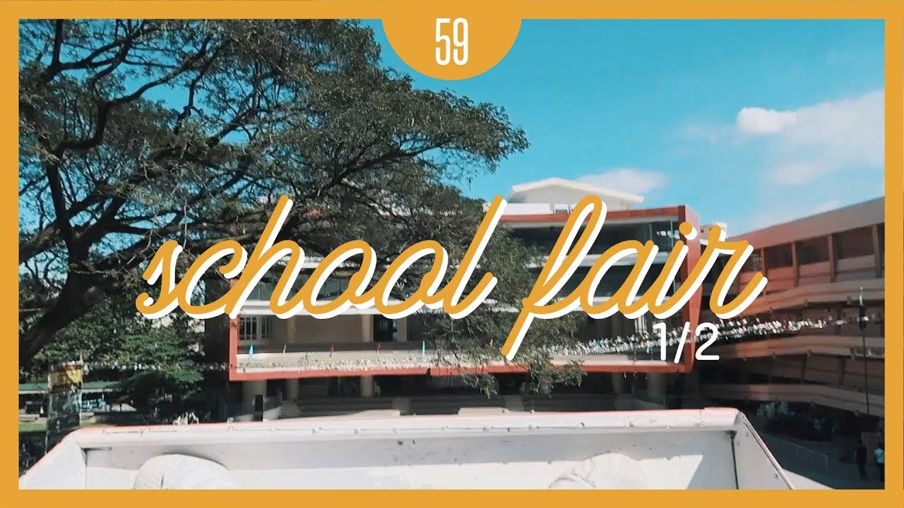 VLOG EP.59: School Fair (1/2)