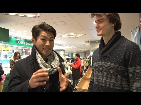 Meet The Farmers of the Ginza Farmers Market - Maeda-san  「ミート・ザ・ファーマーズ」交通会館マルシェの前田さん