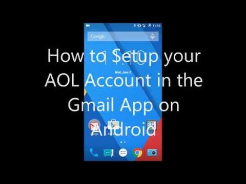 How to Setup Your AOL Account in the Gmail App