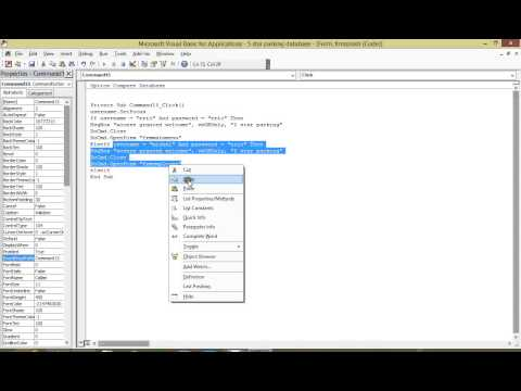 MS ACCESS multiple username in one login form VBA