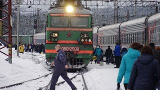 Train from Murmansk to Sant Peterburg