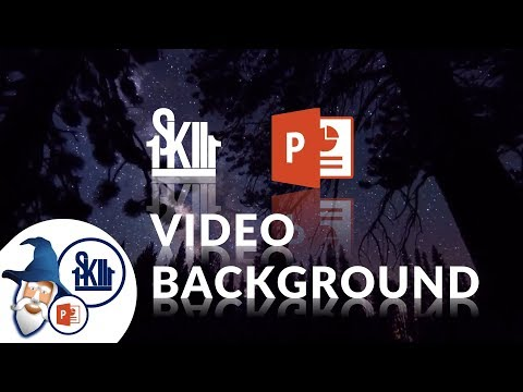 How to add video background PowerPoint  (updated)